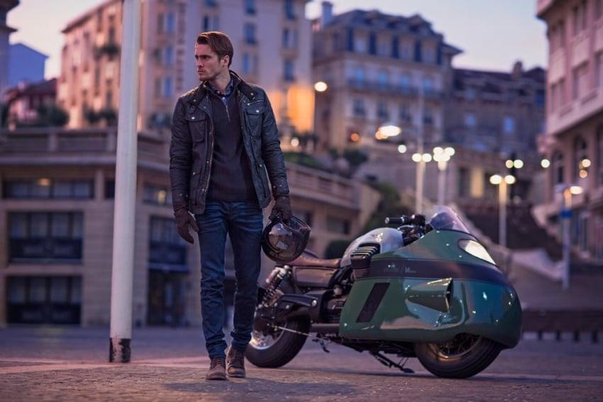 Moto Guzzi Vanguard jeans V8 custom replica Image 545738