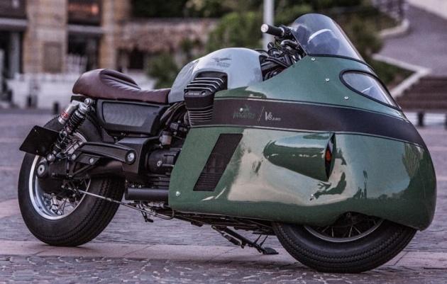 Moto Guzzi Vanguard V8 custom - 6