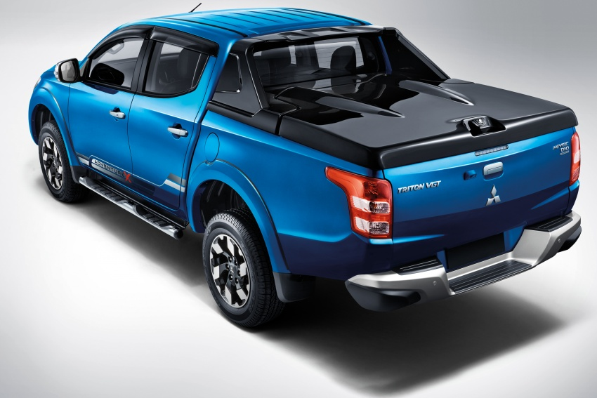 Mitsubishi Triton VGT dipertingkat dilancarkan- 2.4L MIVEC Turbodiesel, 181 PS/430 Nm, varian X baharu Image #545267