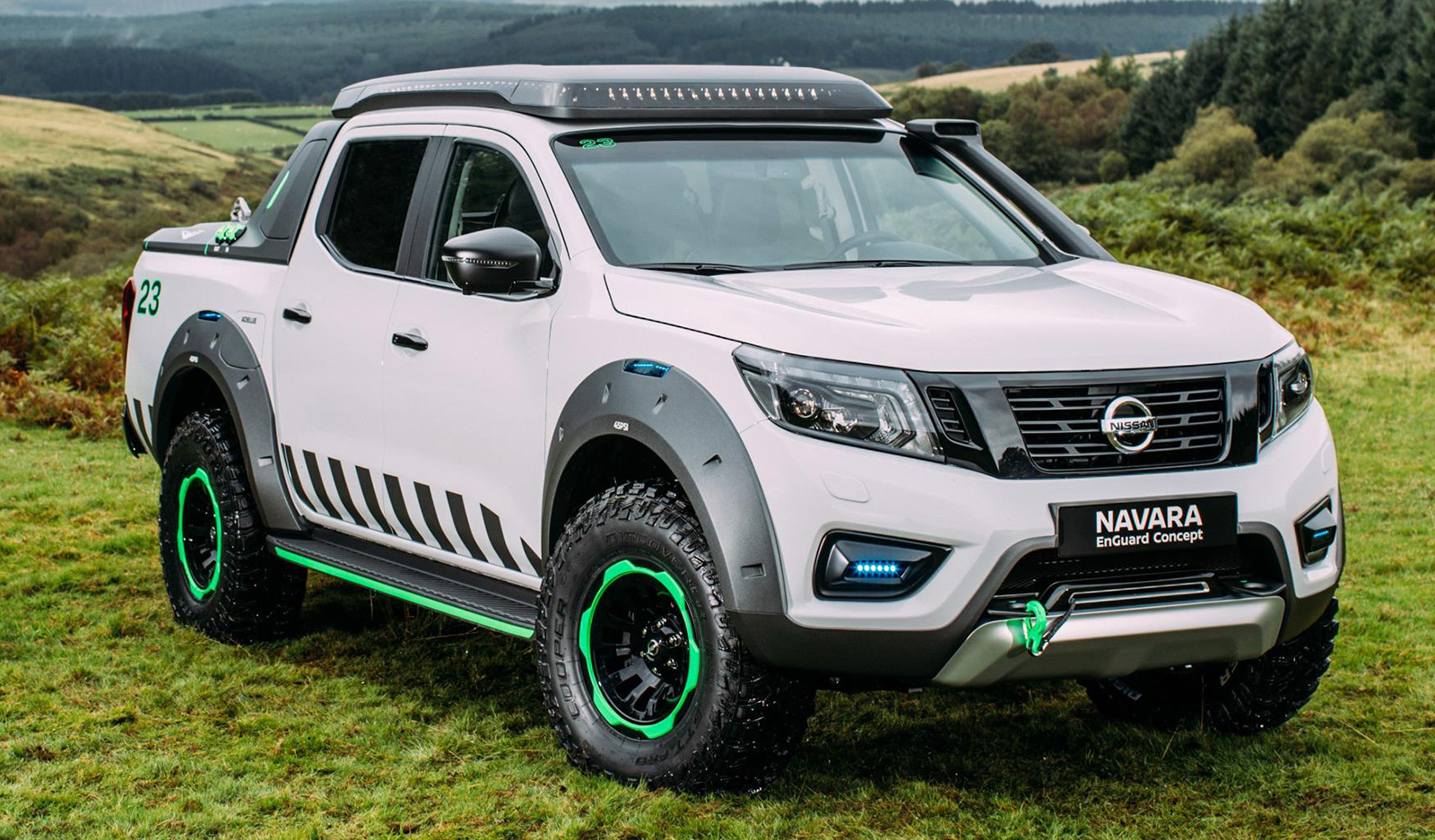 nissan navara enguard concept the ultimate rescue truck with portable ev battery packs drone. Black Bedroom Furniture Sets. Home Design Ideas