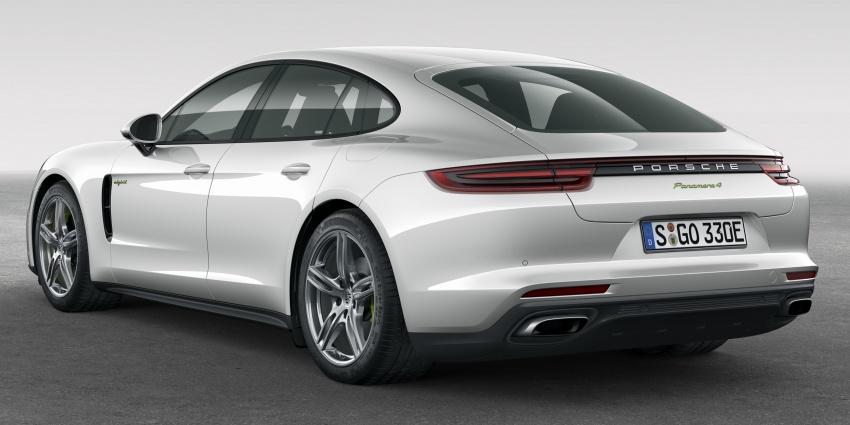 Porsche Panamera 4 E-Hybrid – 462 hp plug-in hybrid Image #547677