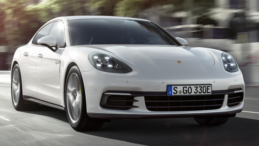 Porsche Panamera 4 E-Hybrid – 462 hp plug-in hybrid Image #547681