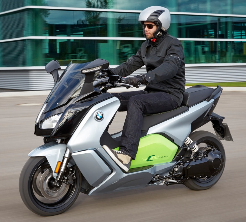BMW C evolution e-scooter: up to 26 hp, 160 km range Paul ...