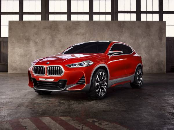BMW Concept X2 unveiled in Paris – it's the 'X1 Coupe' Image #557009