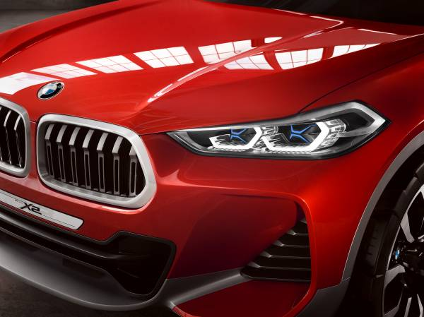 BMW Concept X2 unveiled in Paris – it's the 'X1 Coupe' Image #557013