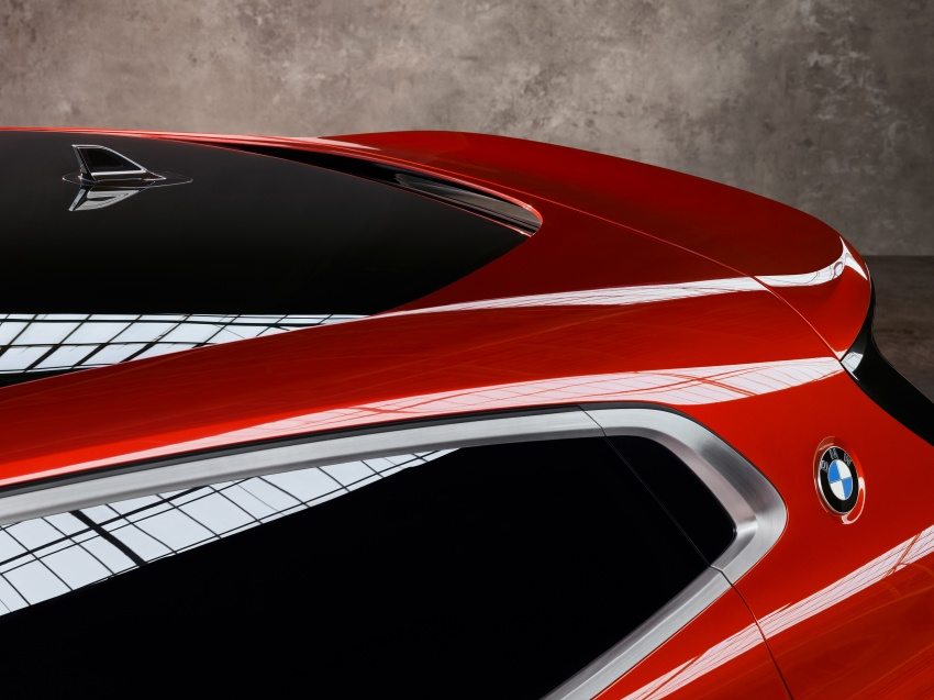 BMW Concept X2 unveiled in Paris – it's the 'X1 Coupe' Image #557018