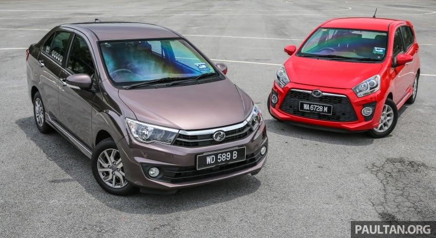 GALERI: Perodua Axia vs Bezza – persaingan keluarga Image #544669