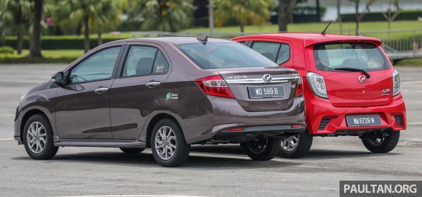 GALERI: Perodua Axia vs Bezza – persaingan keluarga Image #544678