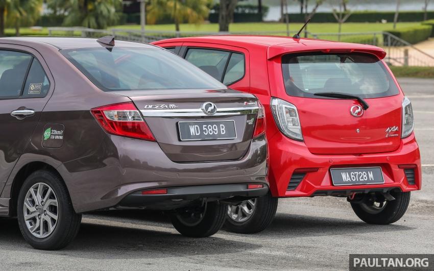 GALLERY: Perodua Bezza vs Axia – sibling rivalry Image #544324