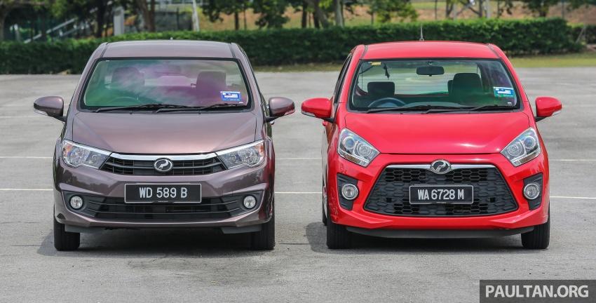 GALERI: Perodua Axia vs Bezza – persaingan keluarga Image #544670