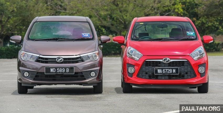 GALERI: Perodua Axia vs Bezza – persaingan keluarga Image #544671
