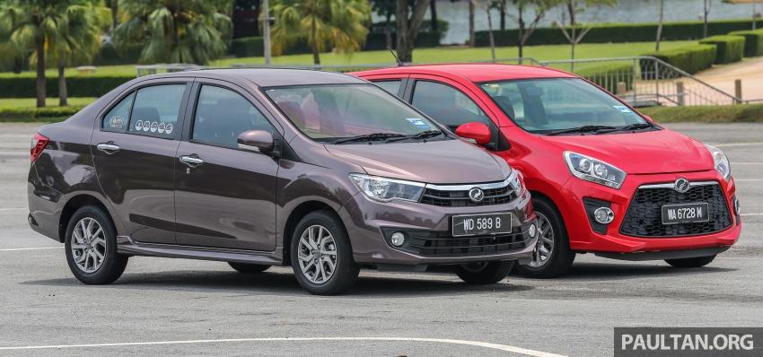 GALERI: Perodua Axia vs Bezza – persaingan keluarga Image #544672