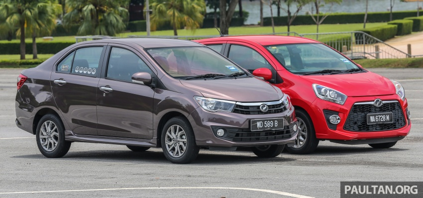 GALLERY: Perodua Bezza vs Axia – sibling rivalry Image #544317