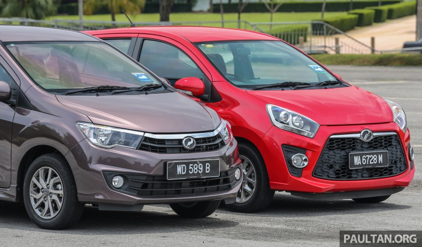 GALLERY: Perodua Bezza vs Axia – sibling rivalry Image #544318