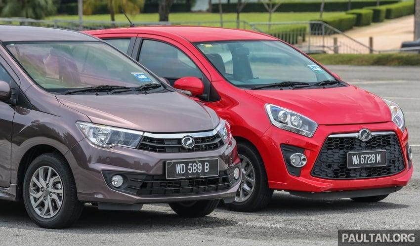 GALLERY: Perodua Bezza vs Axia – sibling rivalry Image #544318