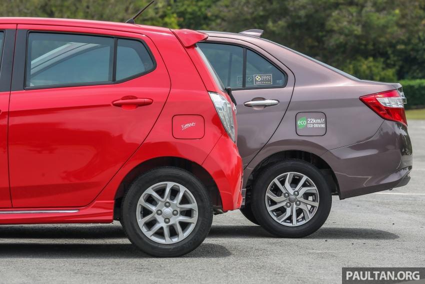 GALERI: Perodua Axia vs Bezza – persaingan keluarga Image #544674