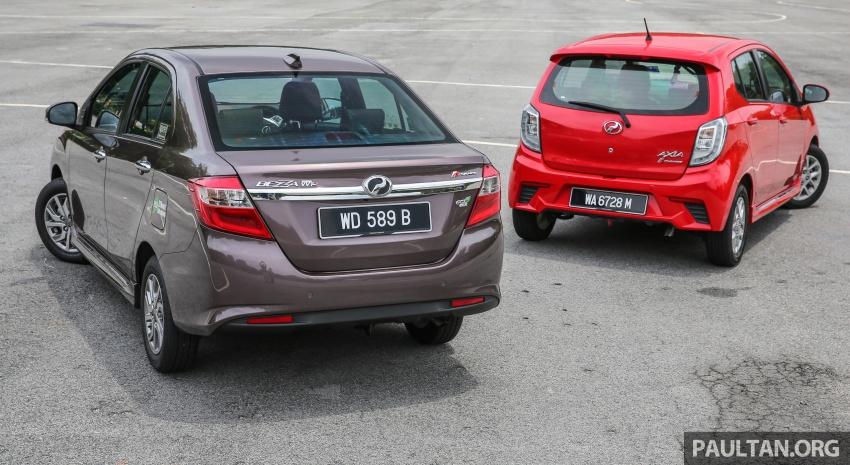 GALERI: Perodua Axia vs Bezza – persaingan keluarga Image #544675