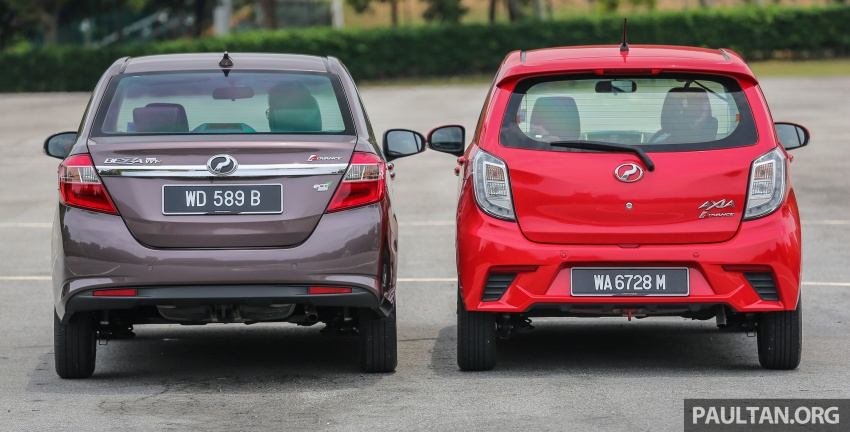 GALERI: Perodua Axia vs Bezza – persaingan keluarga Image #544676