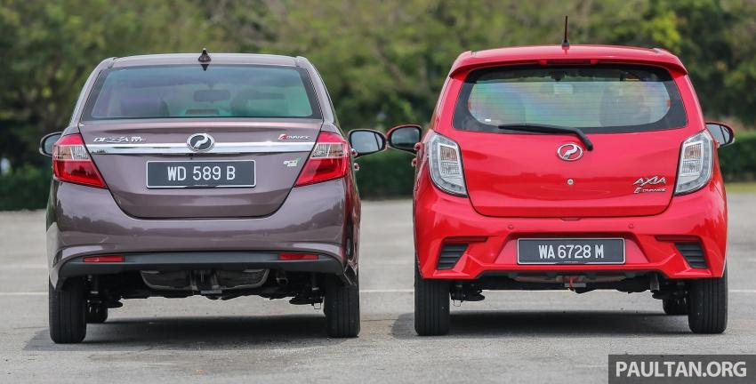 GALERI: Perodua Axia vs Bezza – persaingan keluarga Image #544677