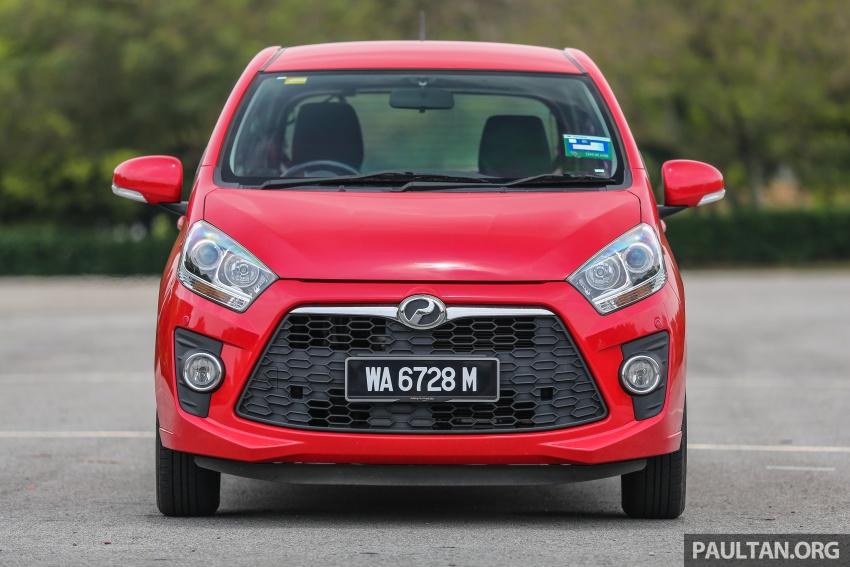GALERI: Perodua Axia vs Bezza – persaingan keluarga Image #544682