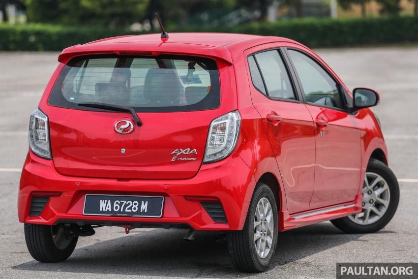 GALLERY: Perodua Bezza vs Axia – sibling rivalry Image #544348