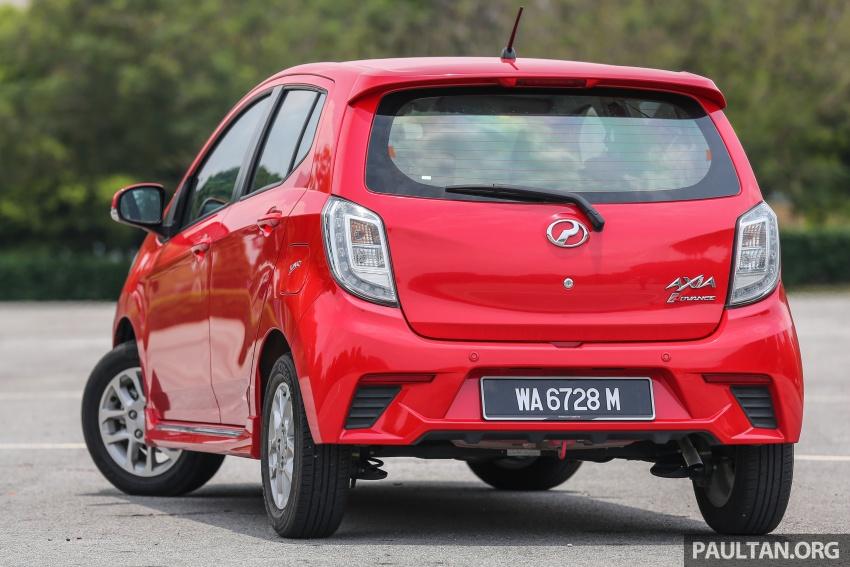 GALERI: Perodua Axia vs Bezza – persaingan keluarga Image #544717
