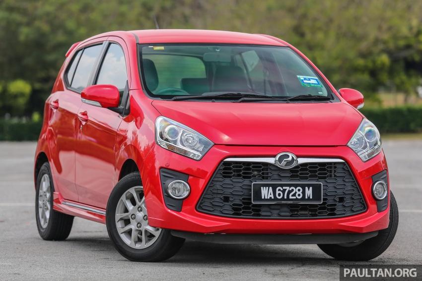 GALLERY: Perodua Bezza vs Axia – sibling rivalry Image #544333