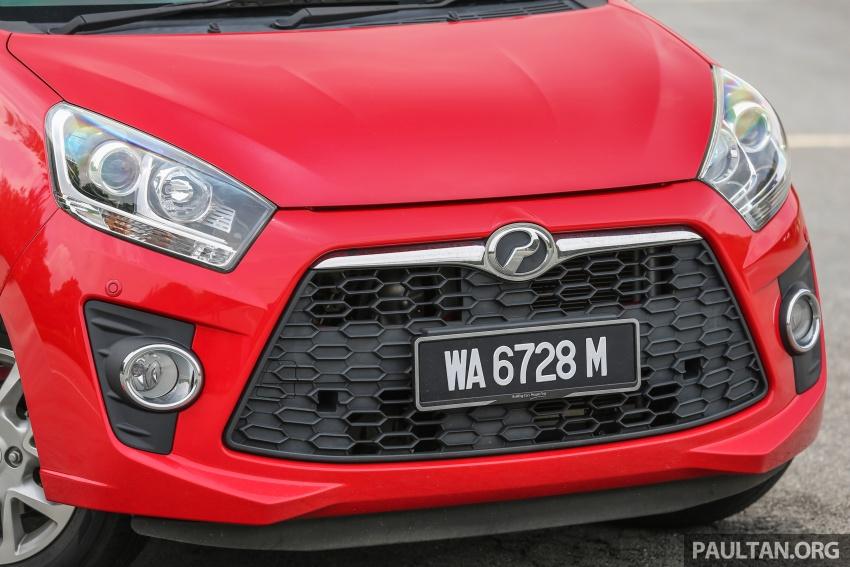 GALERI: Perodua Axia vs Bezza – persaingan keluarga Image #544691
