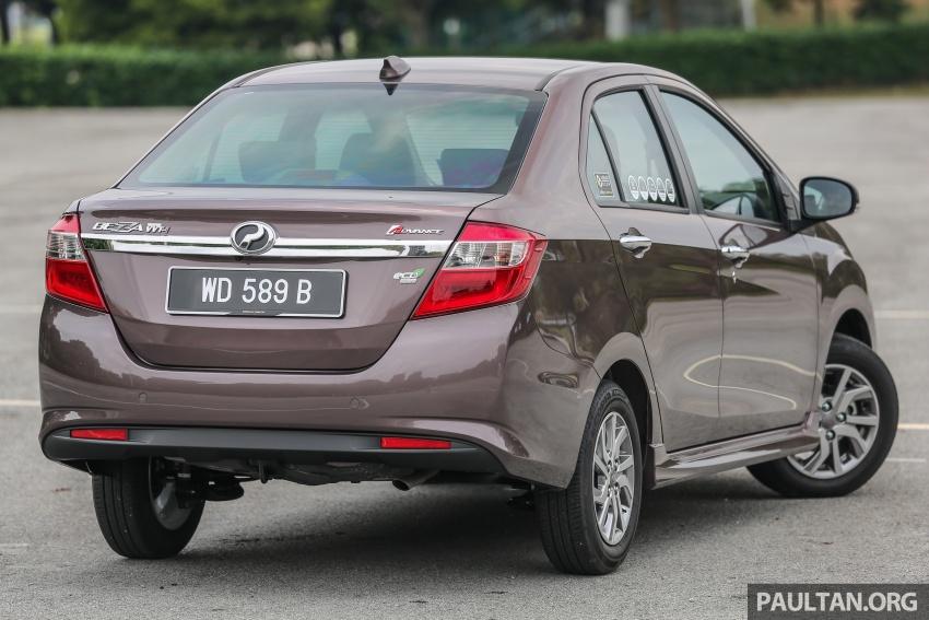 GALERI: Perodua Axia vs Bezza – persaingan keluarga Image #544788