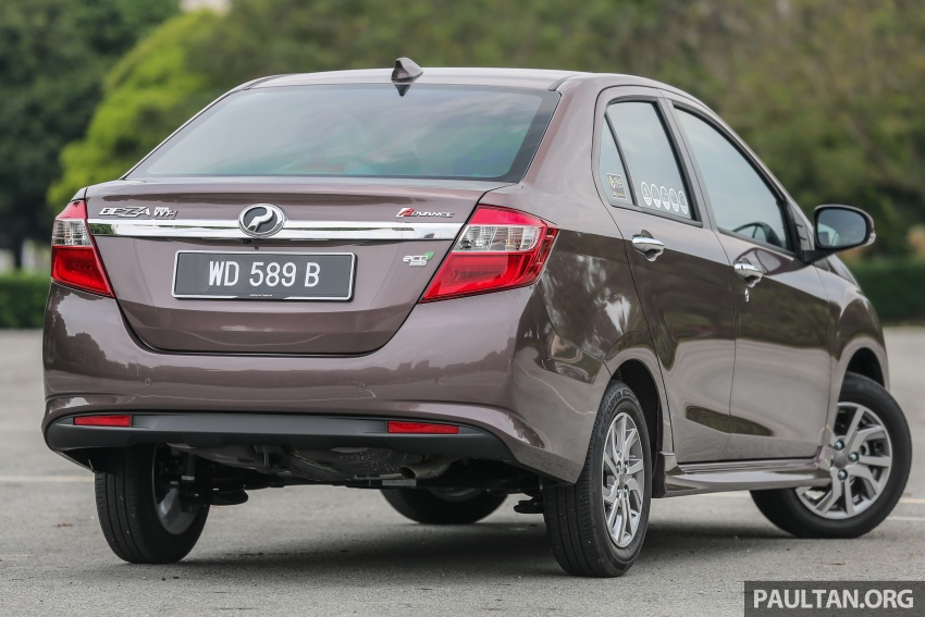 GALERI: Perodua Axia vs Bezza – persaingan keluarga Image #544789