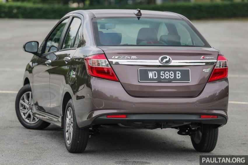 GALERI: Perodua Axia vs Bezza – persaingan keluarga Image #544790