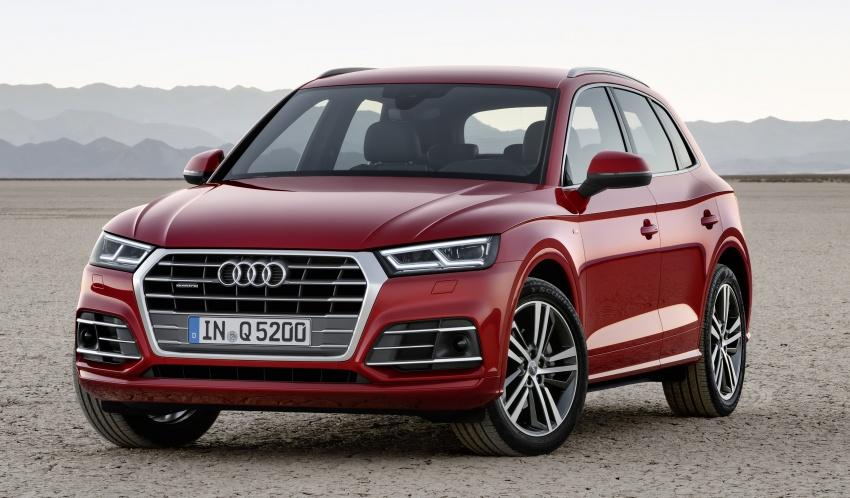 Audi Q5 2017 diperkenalkan – lebih besar, lebih ringan Image #557079