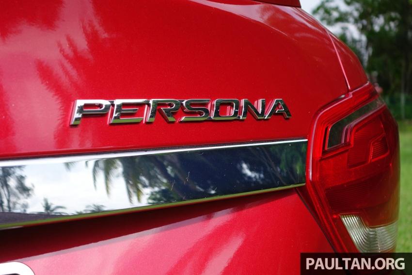 PANDU UJI: Proton Persona 2016 – Adakah ia benar-benar jauh lebih baik berbanding model sebelumnya? Image #551978