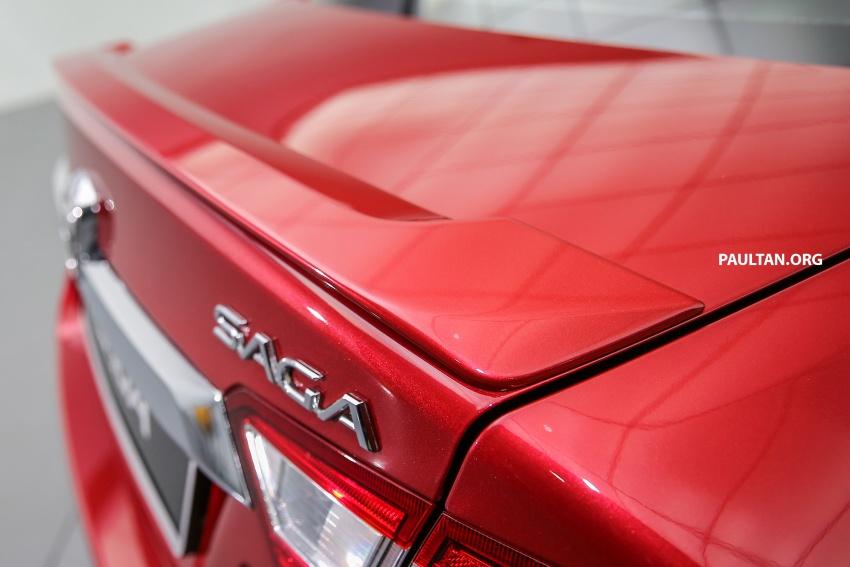 Proton Saga 2016 kini dilancarkan secara rasmi – 4 varian, 1.3L VVT, dari RM36,800 hingga RM45,800 Image #554568