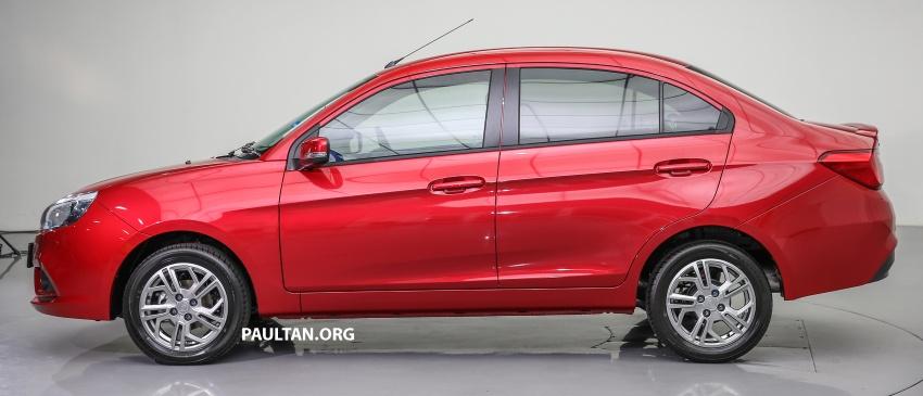 Proton Saga 2016 kini dilancarkan secara rasmi – 4 varian, 1.3L VVT, dari RM36,800 hingga RM45,800 Image #554539