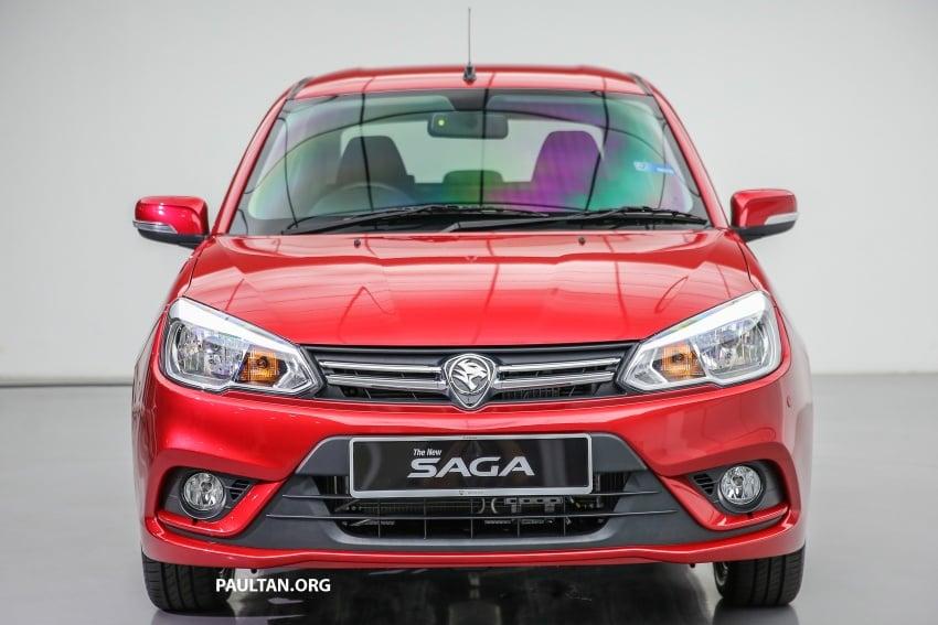 Proton Saga 2016 kini dilancarkan secara rasmi – 4 varian, 1.3L VVT, dari RM36,800 hingga RM45,800 Image #554542