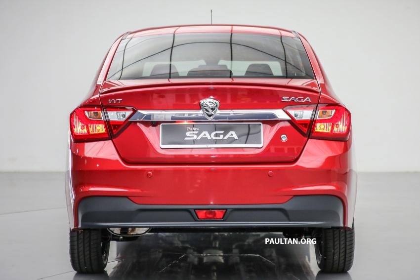 Proton Saga 2016 kini dilancarkan secara rasmi – 4 varian, 1.3L VVT, dari RM36,800 hingga RM45,800 Image #554543