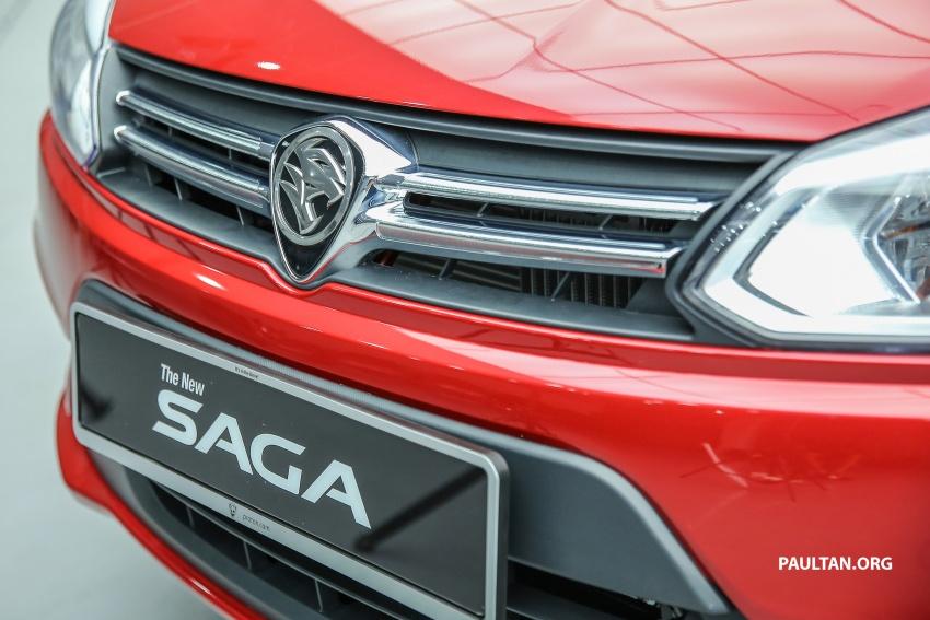 Proton Saga 2016 kini dilancarkan secara rasmi – 4 varian, 1.3L VVT, dari RM36,800 hingga RM45,800 Image #554544