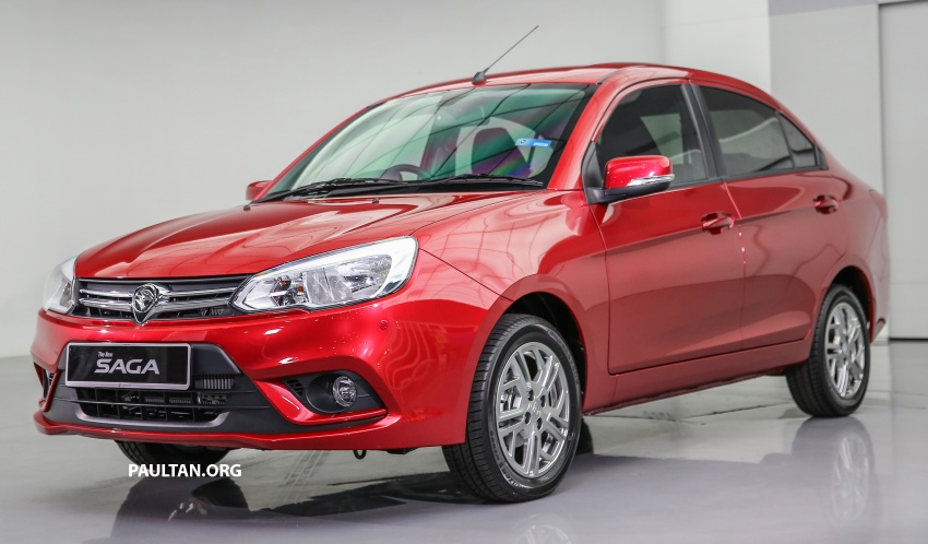 2016 Proton Saga 1.3L launched – RM37k to RM46k Image #554460