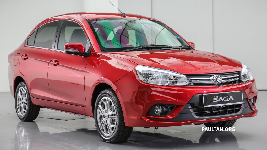 2016 Proton Saga 1.3L launched – RM37k to RM46k Image #554463
