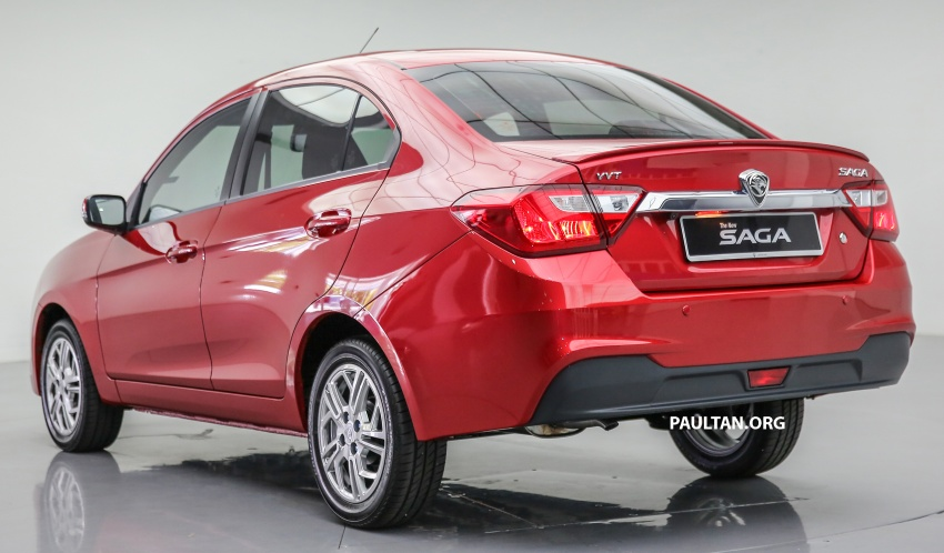 2016 Proton Saga 1.3L launched – RM37k to RM46k Image #554464