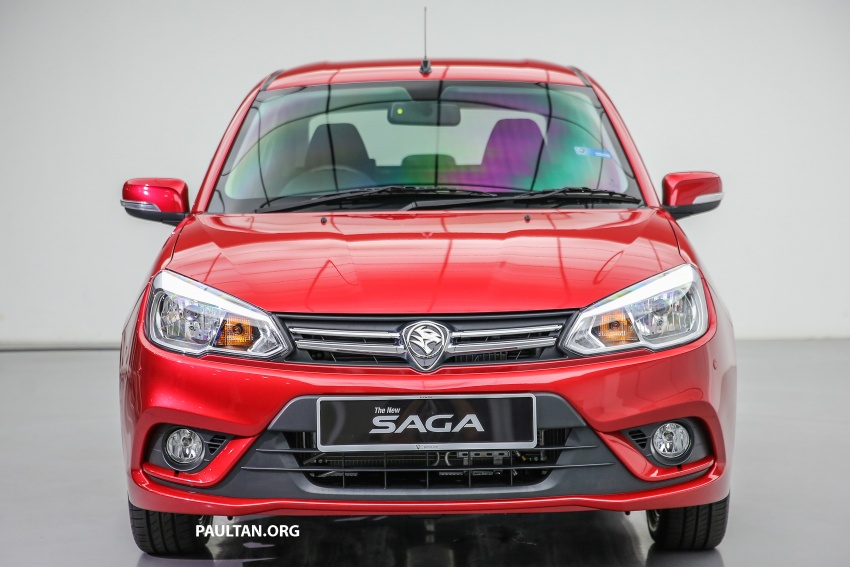 2016 Proton Saga 1.3L launched – RM37k to RM46k Image #554469