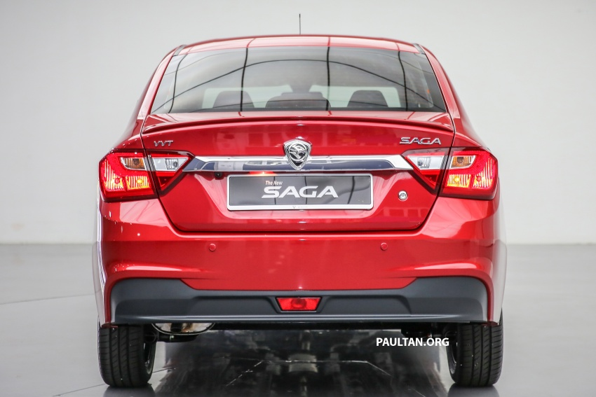 2016 Proton Saga 1.3L launched – RM37k to RM46k Image #554471