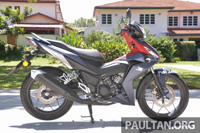 Honda RS150R vs Yamaha Y15ZR – Dua model terhangat bersemuka dalam segmen kapcai sports Image #549601