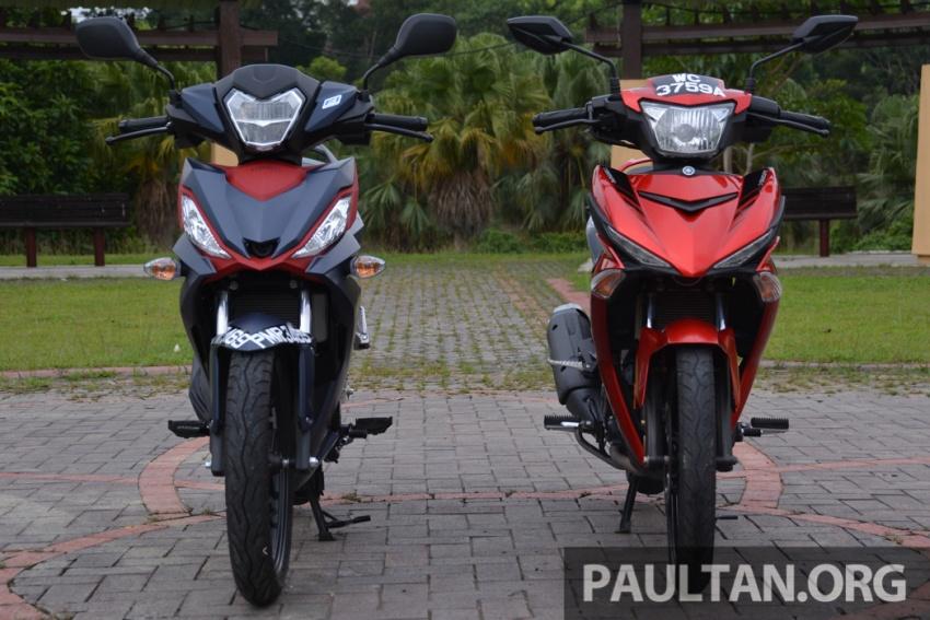 Honda RS150R vs Yamaha Y15ZR – Dua model terhangat bersemuka dalam segmen kapcai sports Image #549567