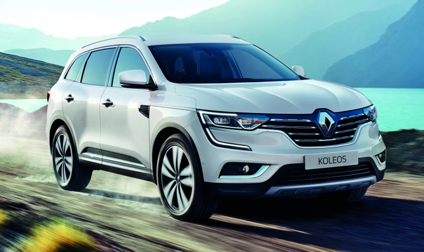2016 Renault Koleos 2.5L launched in M'sia – RM173k Image #542366