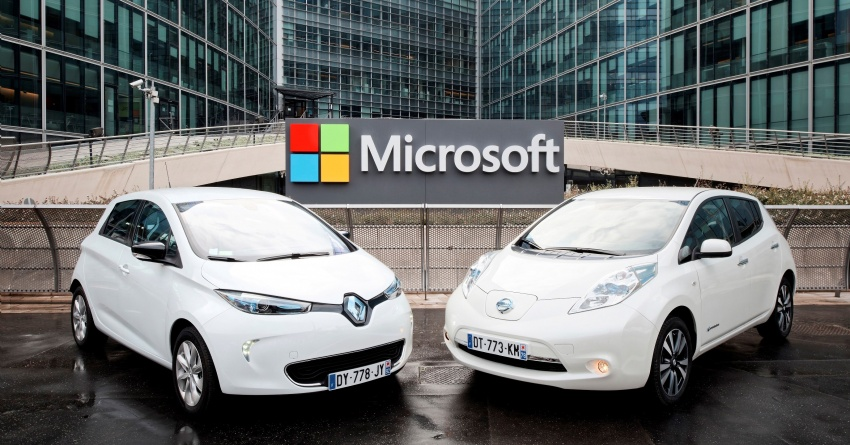 Renault-Nissan signs partnership deal with Microsoft Image #554254