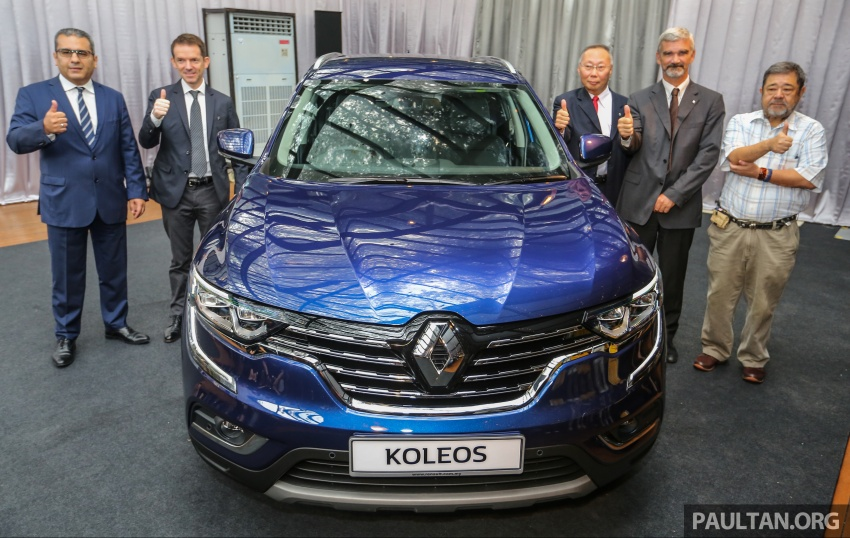 2016 Renault Koleos 2.5L launched in M'sia – RM173k Image #542631