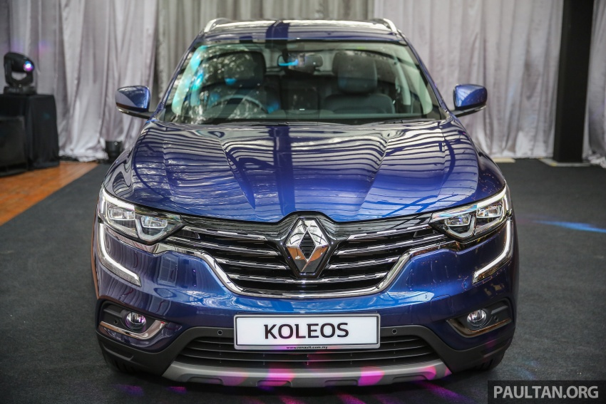 2016 Renault Koleos 2.5L launched in M'sia – RM173k Image #542180