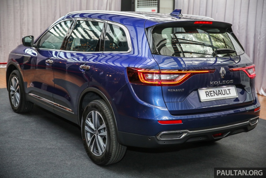 2016 Renault Koleos 2.5L launched in M'sia – RM173k Image #542199